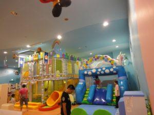 有料の子どもの遊べる施設